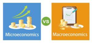 differentiate between microeconomics and macroeconomics