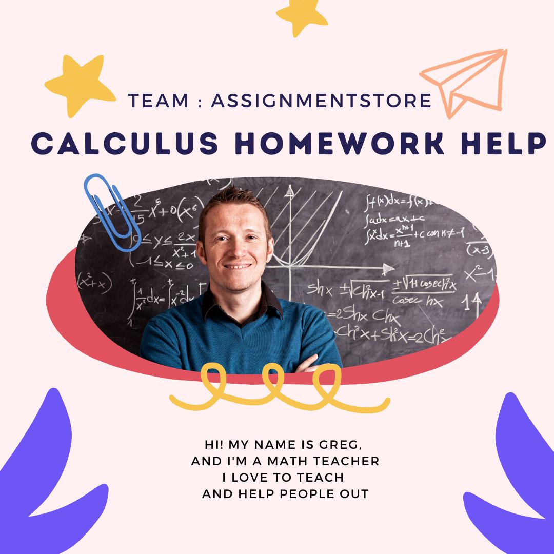 pay someone to do calculus homework