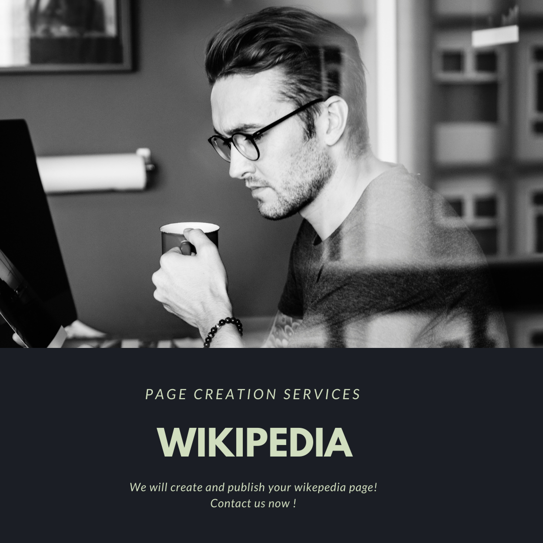 hire someone to create a wikipedia page